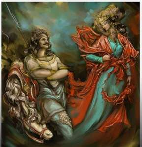شاهنامه روزگار ما ـ بوییدن ملکه