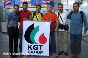سه کوهنورد ایرانی اسیر کوه